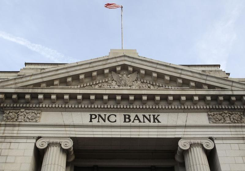 A view of the PNC Bank building in Washington