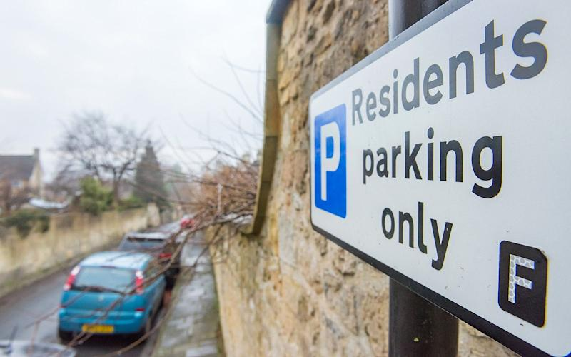 Homeowners in an upmarket street in Bath have been left scratching their heads after a number of mysterious 'Residents Parking Only' signs appeared overnight - APEX