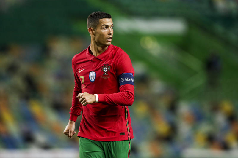 Cristiano Ronaldo has COVID-19, the Portuguese Football Federation announced Tuesday. (David S. Bustamante/Getty Images)