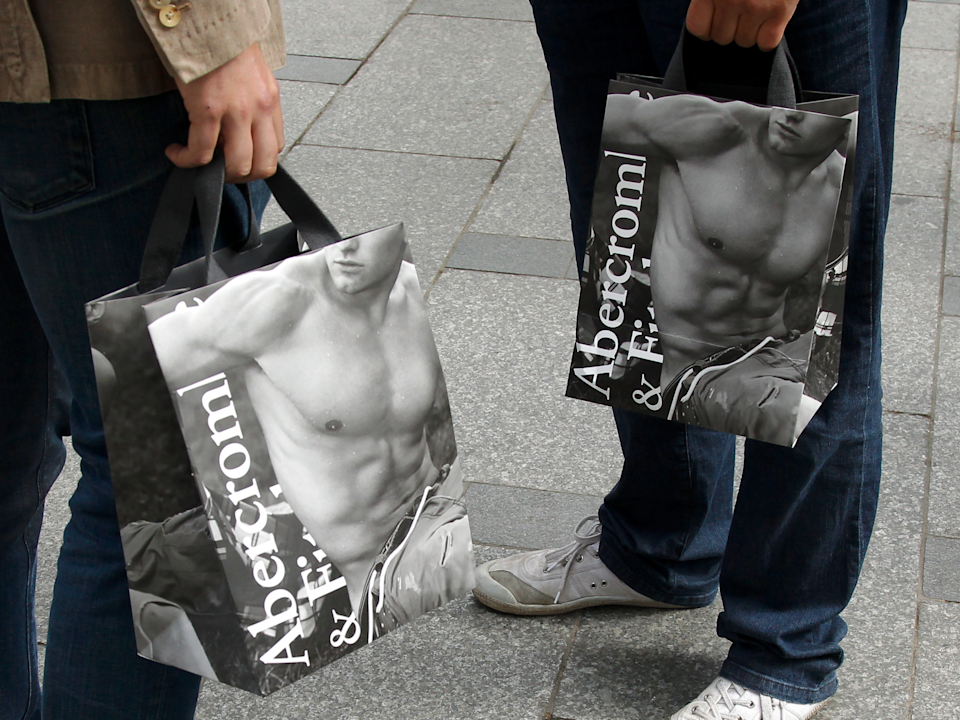 Abercrombie & Fitch shares are down about 18% this year.