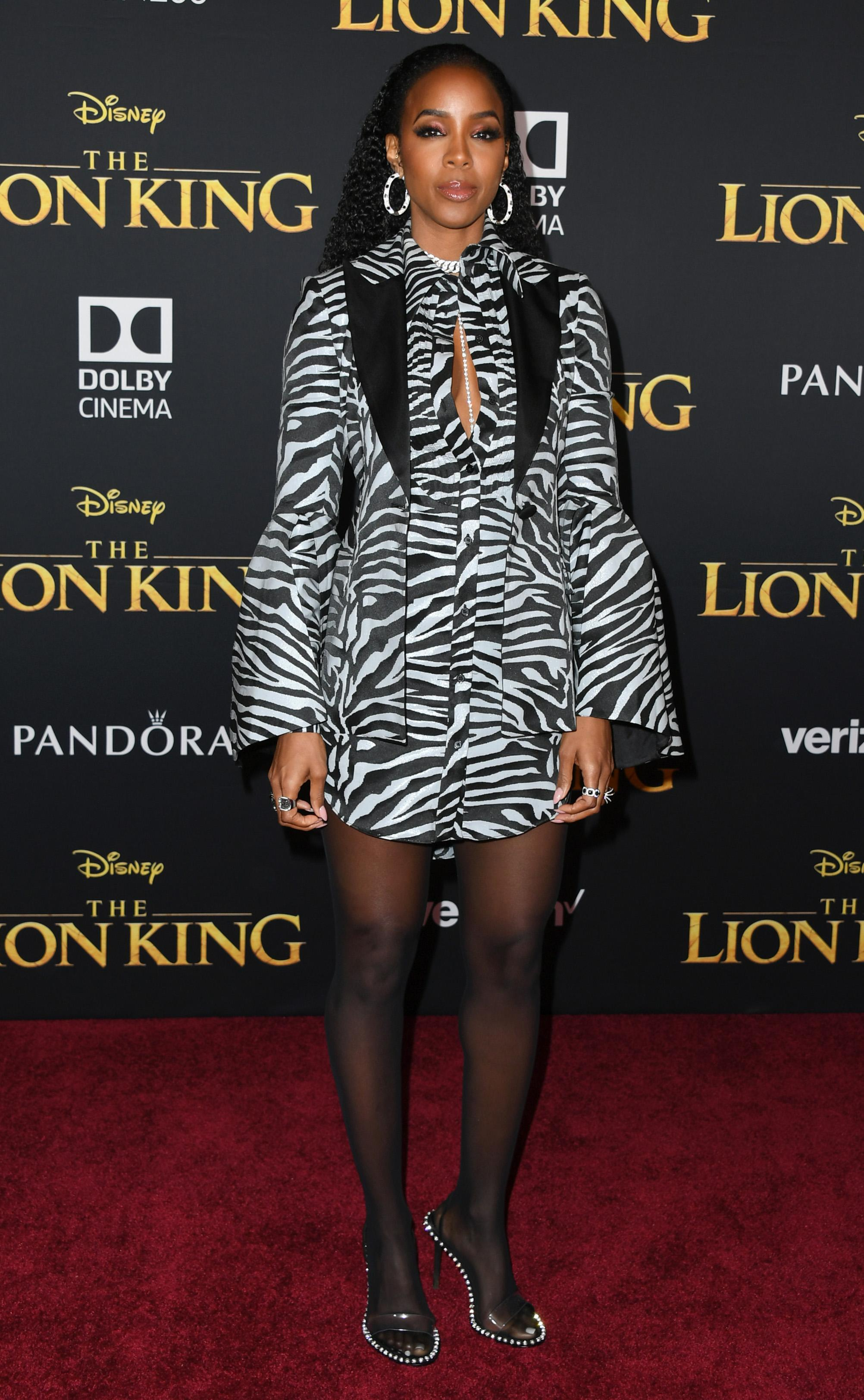 "HOLLYWOOD, CALIFORNIA - JULY 09: Kelly Rowland attends the Premiere Of Disney's ""The Lion King"" at Dolby Theatre on July 09, 2019 in Hollywood, California. (Photo by Jon Kopaloff/FilmMagic)"