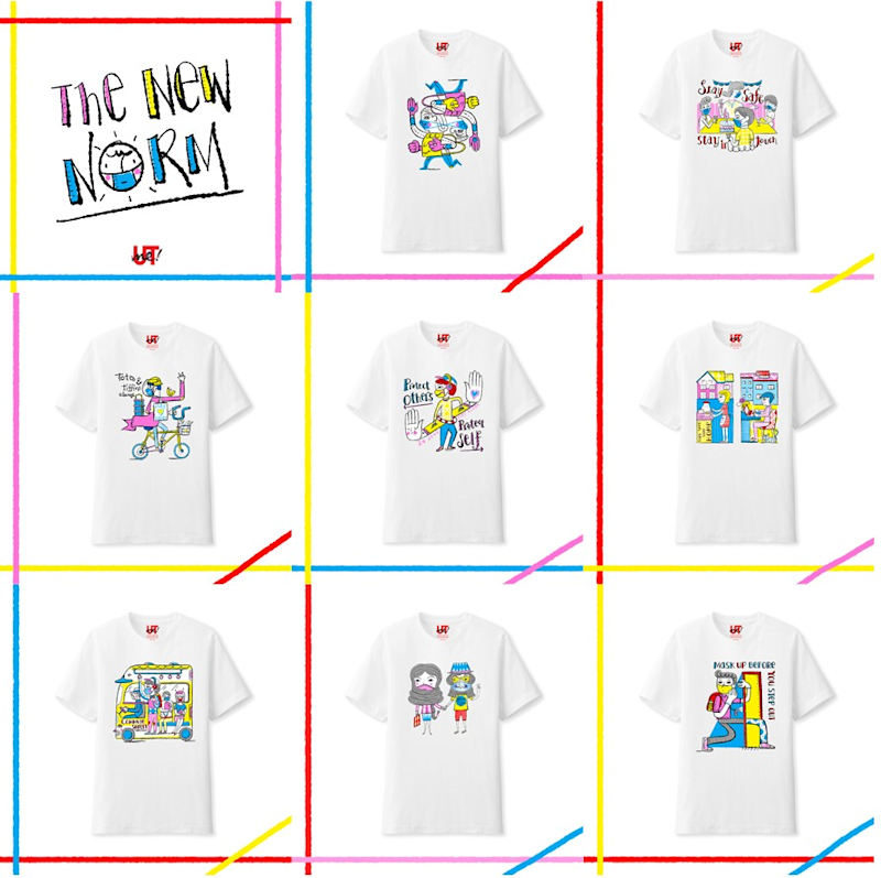 The New Norm collection. (PHOTO: Uniqlo)