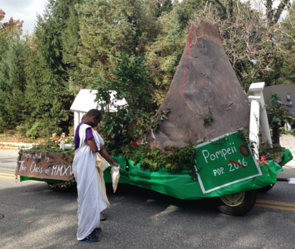 <p>An awesome float and a history lesson all in one. </p>
