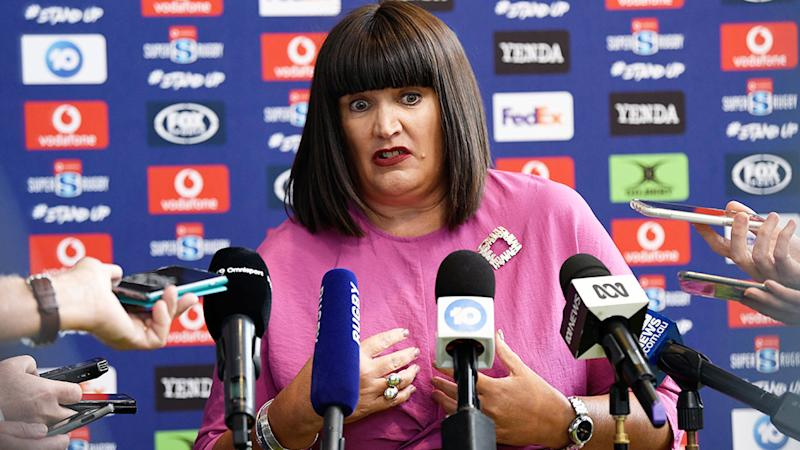 Raelene Castle takes pay cut as Rugby Australia suffers financial loss