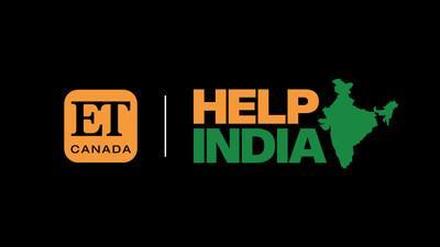 ET Canada Presents: Help India, a May 31 fundraising special on Global (CNW Group / Global)