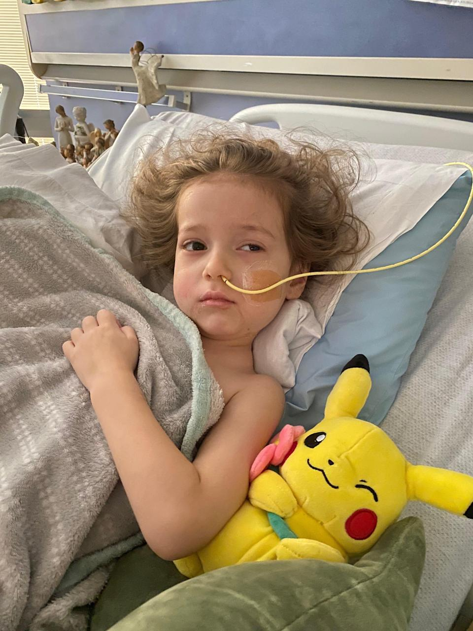 Lylah Baker suffered brain damage after being infected with deadly foreign bacteria that aren't supposed to be sickening people in the United States.