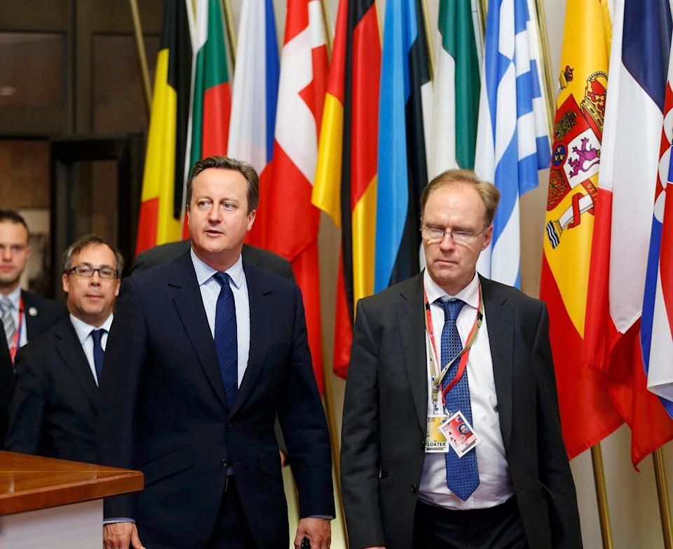 <p>Ivan Rogers was David Cameron and Theresa May's top man in Brussels</p>