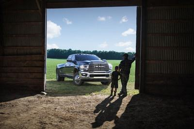 """The Ram Truck brand kicks-off the second annual """"Ram Ag Season,"""" with a new spot """"Done Right,"""" that celebrates the selfless commitment to hard work that our nation's farmers make each and every single day. (PRNewsfoto/FCA US LLC)"""