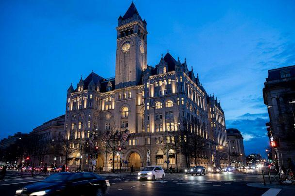 PHOTO: In this Jan. 23, 2019, file photo, the Trump International Hotel near sunset in Washington, D.C. (Alex Brandon/AP, FILE)