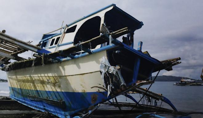 Tensions flared when a Chinese fishing boat crashed into and sank a smaller Philippine vessel last month. Photo: EPA-EFE