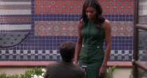 <p>While it was Kristen (Gabrielle Union) who had been thinking like a man, Jeremy (Jerry Ferrara) ultimately mans up and proposes to her when he decides he doesn't want to lose her. </p>