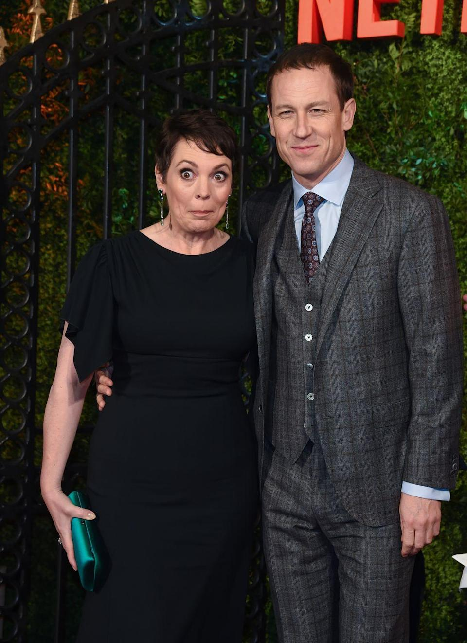 """<p>In an interview with <a href=""""https://www.vanityfair.com/hollywood/2020/09/the-crowns-charles-and-diana-exclusive-visit"""" rel=""""nofollow noopener"""" target=""""_blank"""" data-ylk=""""slk:Vanity Fair"""" class=""""link rapid-noclick-resp""""><em>Vanity Fair</em></a>, the show's creator, Peter Morgan, opened up about how the COVID-19 pandemic had affected Season 4 of <em>The Crown</em>. """"The truth is, yes, we are missing at least two weeks of filming,"""" he explained. """"I just hope you can't tell where.""""</p>"""
