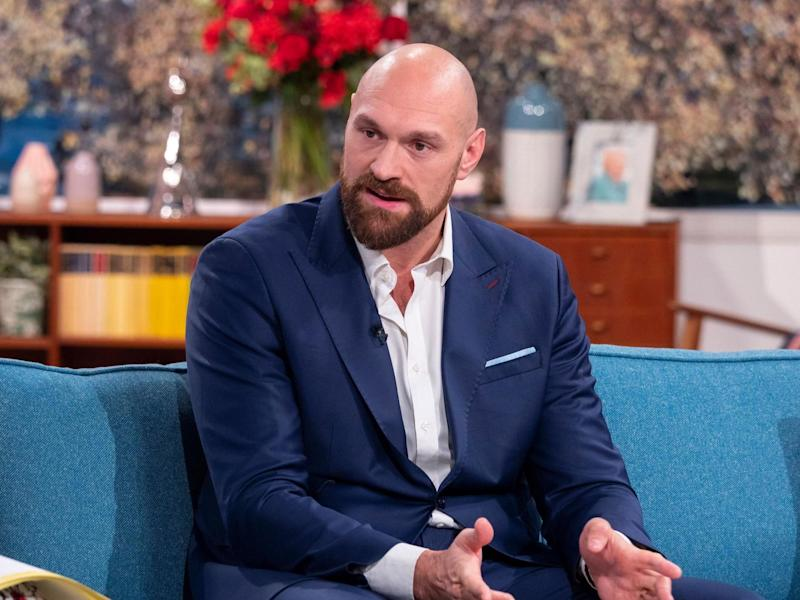 Tyson Fury on This Morning (14 November 2019): Rex Features