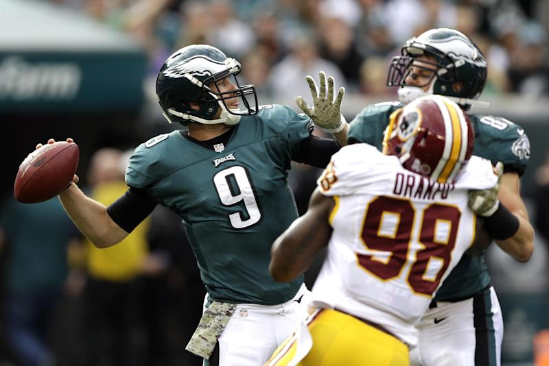 Eagles beat Redskins 24-16, take NFC East lead