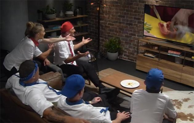 WHAT ARE YOU DOING!!!!!!! Source: Channel Seven