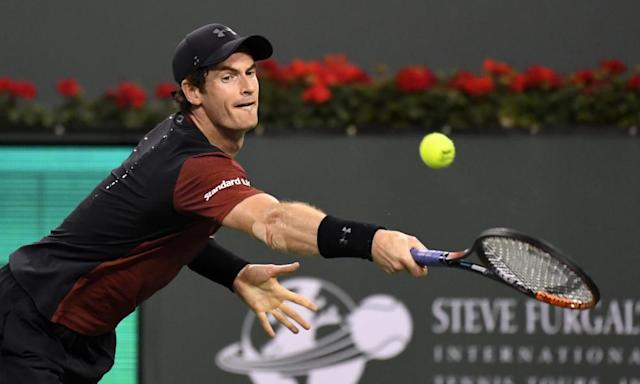 """<span class=""""element-image__caption"""">Andy Murray will play Roger Federer in an exhibition match in Zurich on Monday, as the Scot aims to return from an elbow problem.</span> <span class=""""element-image__credit"""">Photograph: Mark J. Terrill/AP</span>"""