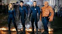 <p> Rather than going after governments or terrorists, Fantastic Four instead holds up a mirror against celebrity-obsessed society. After gaining their superpowers, the characters turn up in New York and instantly become famous, going into hiding from the media as they are recognised by photographers on the street - like paparazzi pursuing celebrities. </p> <p> Regardless of its faults, the film shows the truth of being a superhero/celebrity in the real world: action figures, marketing teams, brand awareness, and public perception. From this perspective the actual villain of the piece, Doctor Doom, is almost secondary to the story. </p>