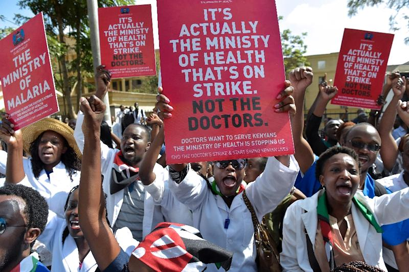 Kenya to jail doctors for going on strike