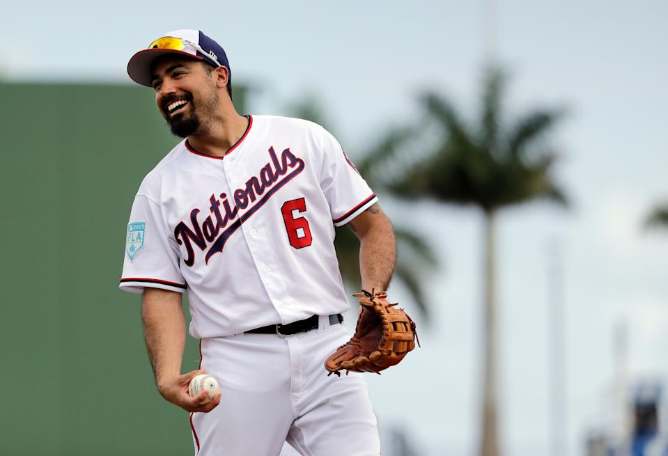 Anthony Rendon, bankable four-category fantasy asset. (AP Photo/Jeff Roberson)