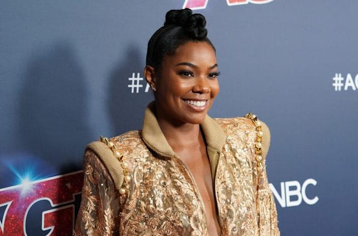"""HOLLYWOOD, CALIFORNIA – SEPTEMBER 03: Gabrielle Union attends """"America's Got Talent"""" Season 14 Live Show Red Carpet at Dolby Theatre on September 03, 2019 in Hollywood, California. (Photo by Rachel Luna/Getty Images)"""