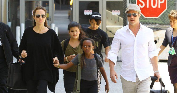 Brad and Angelina agreed to keep their divorce and custody battle out of the public eye (Copyright: Broadimage/REX/Shutterstock)
