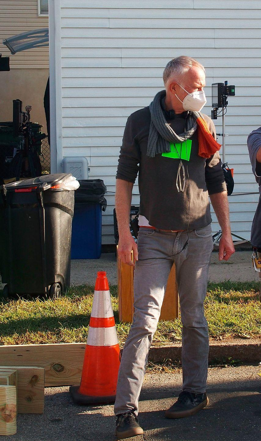 <p>Director Alan Taylor on the set of <em>The Many Saints of Newark</em> on September 23, 2020 in Bloomfield, New Jersey.</p>