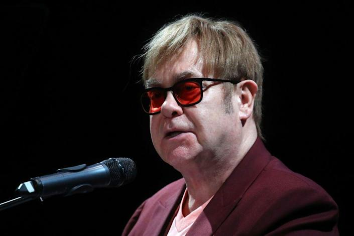 """<p>John was born """"Reginald Kenneth Dwight"""" and chose a stage name that would pay homage to two musicians: saxophonist Elton Dean and singer Long John Baldry. </p>"""