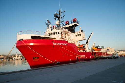 The Ocean Viking is currently undergoing maintenance and repair work in Marseilles before it sets again on a new rescue mission