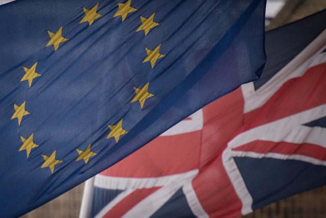 Embargoed to 0001 Friday February 02 File photo dated 17/2/2016 of EU and UK flags flying, as leaders of a new political party aiming to stop Brexit are preparing to launch their campaign with a Òlisten to BritainÓ tour of towns and universities across the country.