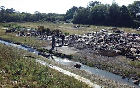 The local stream was polluted - Credit: Environment Agency