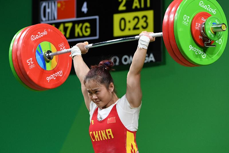 Olympics: China's Deng lifts record after surprise withdrawal