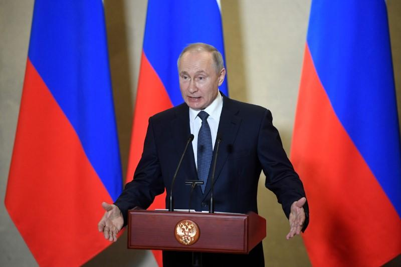 Putin orders Russian military drills to increase coronavirus capabilities