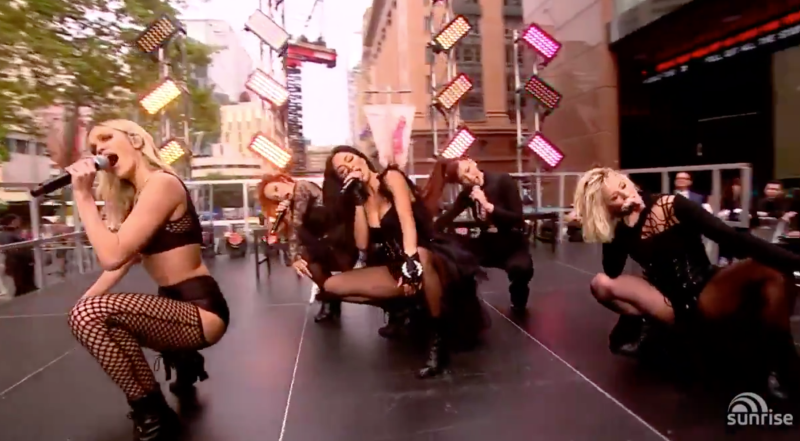 pussycat dolls sunrise performance