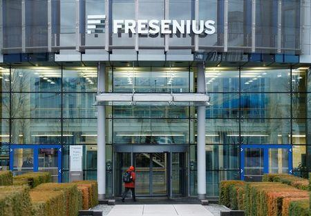 FILE PHOTO: The Fresenius SE headquarters are pictured in Bad Homburg near Frankfurt