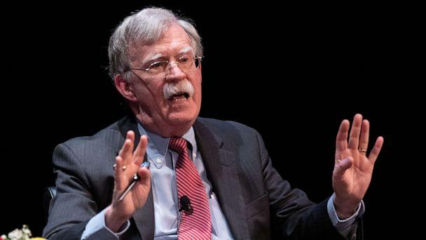 PHOTO: In this file photo taken on Feb. 17, 2020, former national security adviser John Bolton speaks at Duke University in Durham, N.C. (Logan Cyrus/AFP via Getty Images, File)