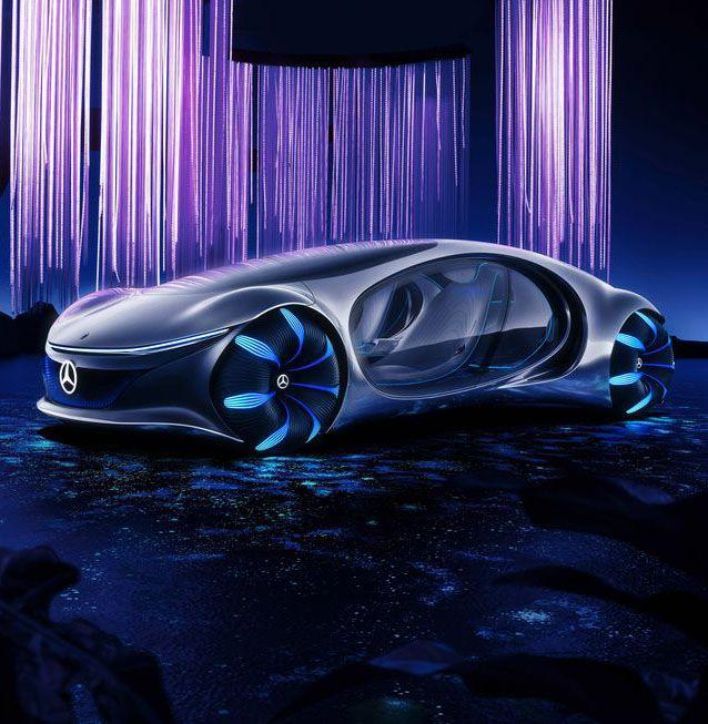 """<p>There is no way in hell this machine will be hitting asphalt in 2020. It might <em>never</em> hit asphalt. Nevertheless, it is both insane and earth-friendly, so therefore important. To create the AVTR, Mercedes-Benz teamed up with James Cameron and the <em>Avatar </em>team, hence the name, to brainstorm just how a vehicle can become one with its environment without actually being a plant—and merge with its driver without any prerequisite tail connecting. The answer is the advanced, conceptual technology of AVTR that Mercedes-Benz showcased at CES, ranging from autonomous driving (there's no steering wheel) and a wildly efficient electric battery to neurons that flow around the vehicle to sense passengers' energy. Sure! And the description of this car-ish vehicle keeps getting wilder. It can roll sideways like a crab on rotating wheels. The back is covered with mini solar panels. It recognizes its driver's breathing patterns. It does everything but fly. We're going to have to reimagine how we imagine the future of transportation.</p><p><a class=""""body-btn-link"""" href=""""https://www.mercedes-benz.com/en/vehicles/passenger-cars/mercedes-benz-concept-cars/vision-avtr/"""" target=""""_blank"""">Learn More</a> <em>mercedes-benz.com</em></p>"""
