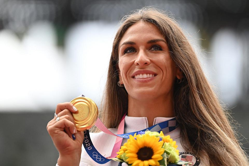 """<p>Biography: 26 years old</p> <p>Event: Discus</p> <p>Quote: """"I can't believe it. I've watched the Olympics for as long as I can remember and athletics has always had such a special part in my heart, and to now be here, be in his moment, it feels so surreal.""""</p>"""