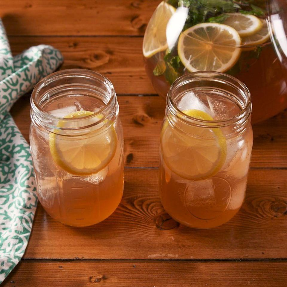 """<p>Whiskey lovers, meet your new favourite punch. </p><p>Get the <a href=""""https://www.delish.com/uk/cocktails-drinks/a30323560/whiskey-lemonade-punch-recipe/"""" rel=""""nofollow noopener"""" target=""""_blank"""" data-ylk=""""slk:Whiskey Lemonade Punch"""" class=""""link rapid-noclick-resp"""">Whiskey Lemonade Punch </a>recipe.</p>"""