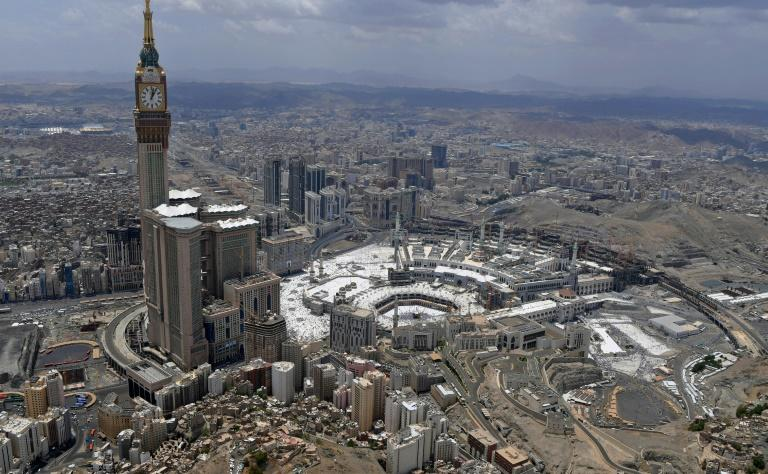 Mecca's most opulent hotels are located within the vast Abraj al-Beit (Kaaba Towers) skyscraper complex which is home to one of the tallest towers in the world