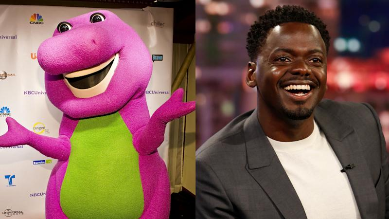 Daniel Kaluuya will produce Mattel's new 'Barney' movie. (Credit: Lyle A. Waisman/FilmMagic/Randy Holmes via Getty Images)