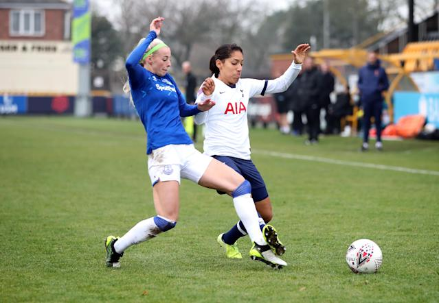Everton's Chloe Kelly in action / Action Images via Reuters/Molly Darlington