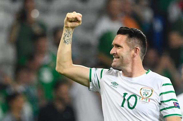 Over 18 years have passed since Robbie Keane made his Ireland debut against the Czech Republic in 1998, but it will be a long time before Ireland sees his like again (AFP Photo/Miguel Medina)