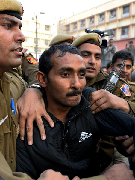 Uber taxi driver Shiv Kumar Yadav has been jailed for life for the rape of female passenger in his car (AFP Photo/Chandan Khanna)