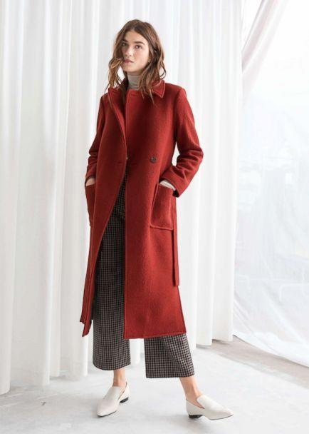 PHOTO: & Other Stories Belted Wool Coat (& Other Stories)
