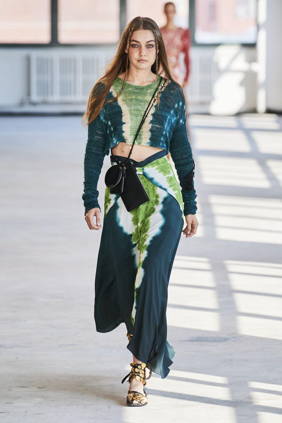 <p>Retuning to the New York Fashion Week schedule after a few seasons off (the designer showed in Paris for a while before the pandemic took hold), Joseph Altuzarra brought a touch of escapism to the catwalk with tie-dye prints, relaxed separates and dresses that are perfect for travelling the world. </p>