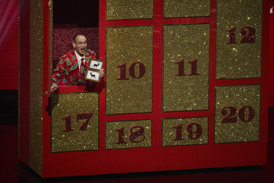 Steve Royle in the Britain's Got Talent Christmas special (ITV)