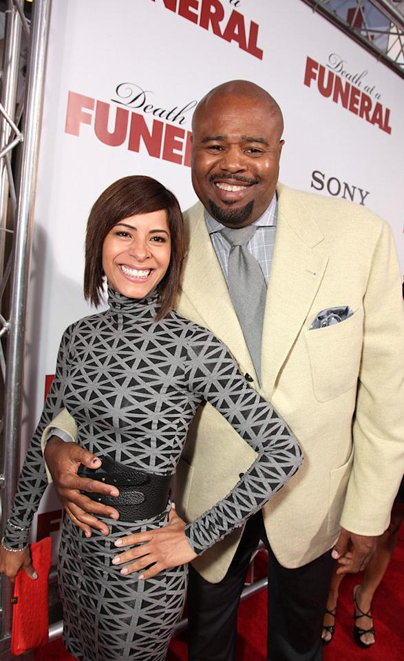 "<a href=""http://movies.yahoo.com/movie/contributor/1800023376"">Chi McBride</a> and guest at the Los Angeles premiere of <a href=""http://movies.yahoo.com/movie/1810077967/info"">Death at a Funeral</a> - 04/12/2010"
