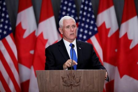 Mexican officials to meet U.S. VP Pence in last-ditch talks to avert tariffs