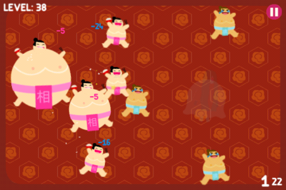 Hungry Sumo in action