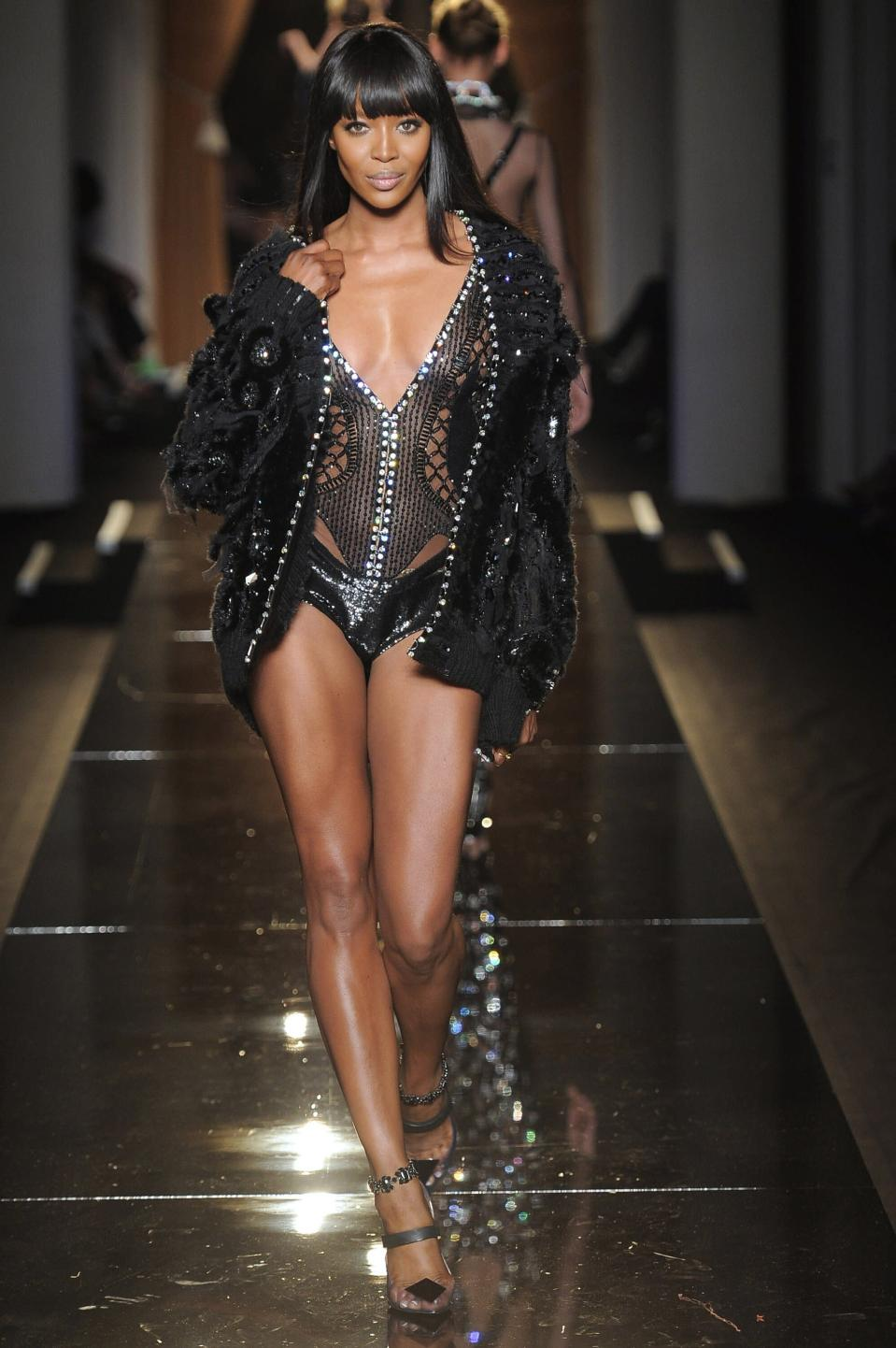<p>Bodysuits, couture, and Naomi Campbell are the only things a fashion show has ever needed.</p>